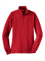 Sport Tek Ladies 1/4 zip sweatshirt