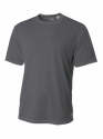 A4 Adult Textured Performance T-Shirt