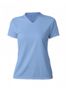 A4 Ladies Textured Performance T-Shirt